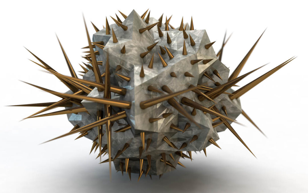 Spiky Sculptures