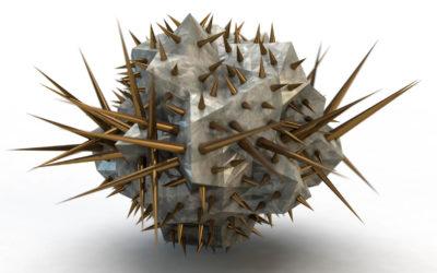 Spiky Sculptures